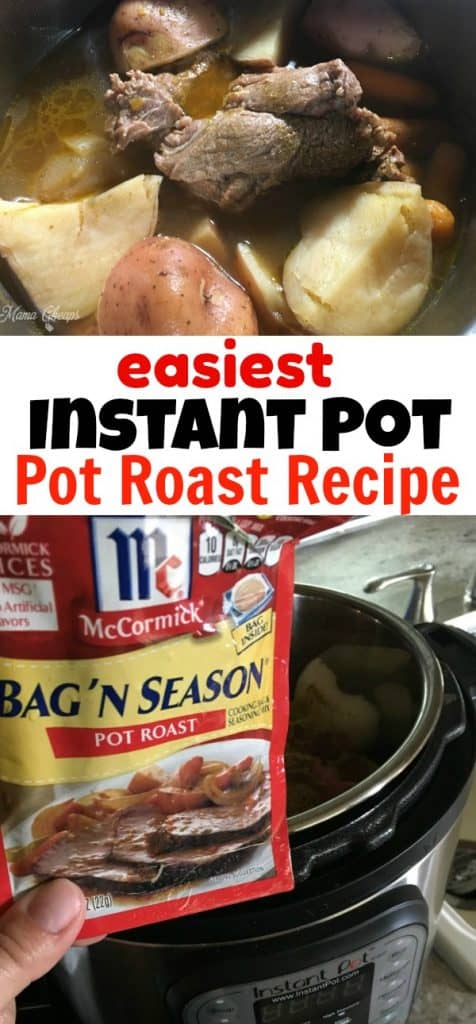 Easiest Instant Pot Pot Roast Recipe