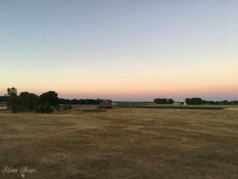 Sunset Ingalls Homestead