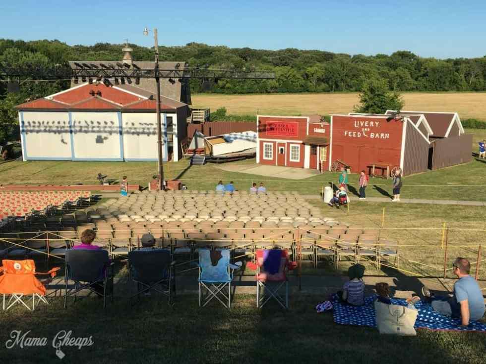 Wilder Pageant Walnut Grove Stage
