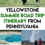 Yellowstone National Park Summer Road Trip Itinerary