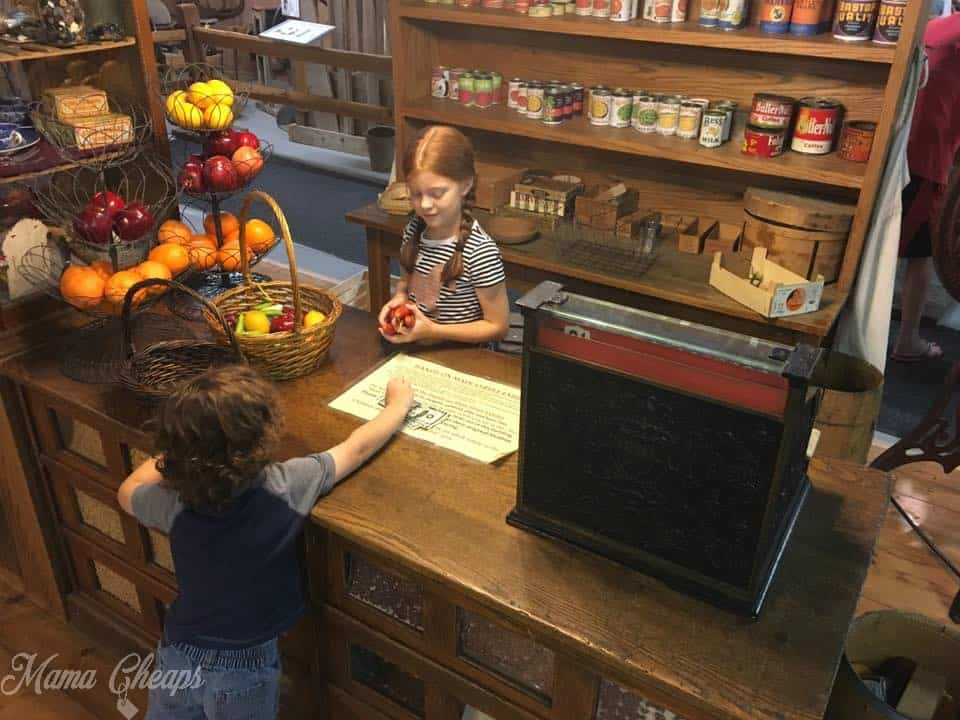Walnut Grove Museum Pretend Store