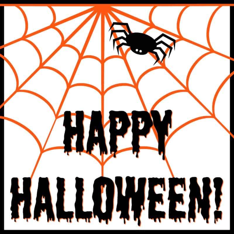 halloween tag 1 - Halloween Gift Tag