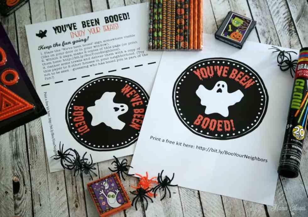Boo Your Neighbors for Halloween
