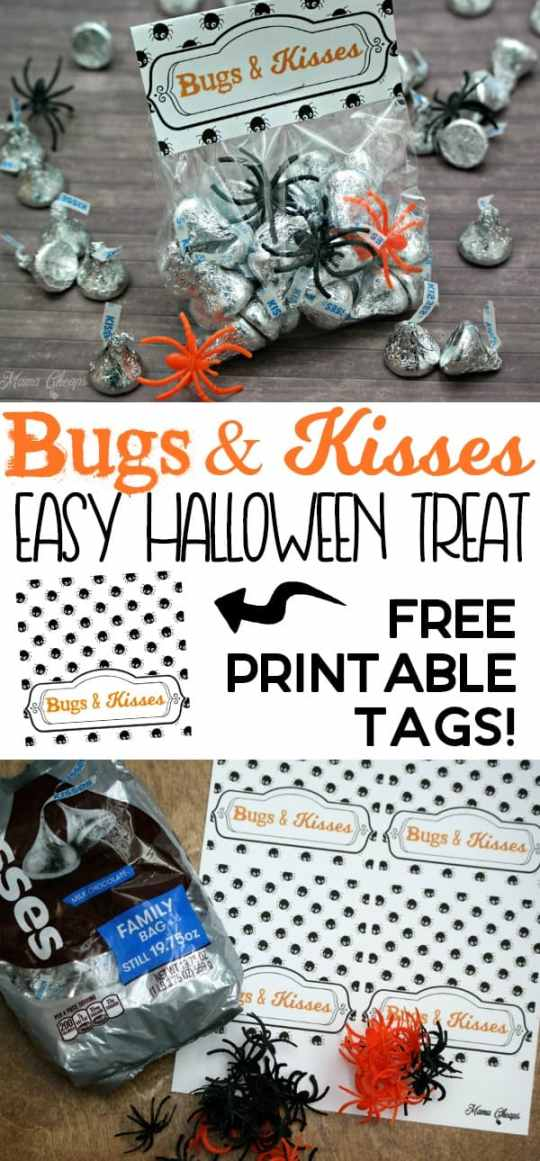 Bugs and Kisses Easy Halloween Treat