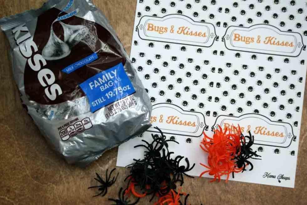 Hershey Kisses Bugs Printable Spiders