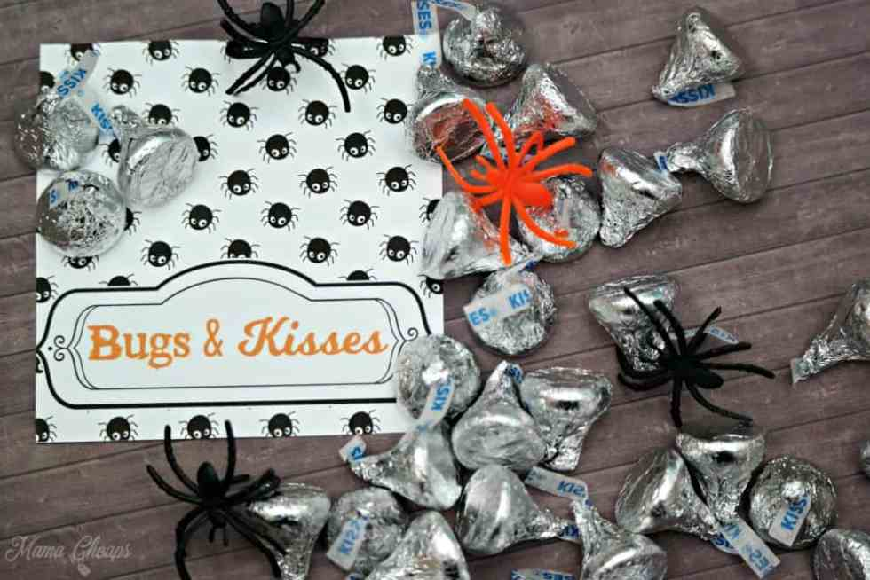 Hershey Kisses and Spiders
