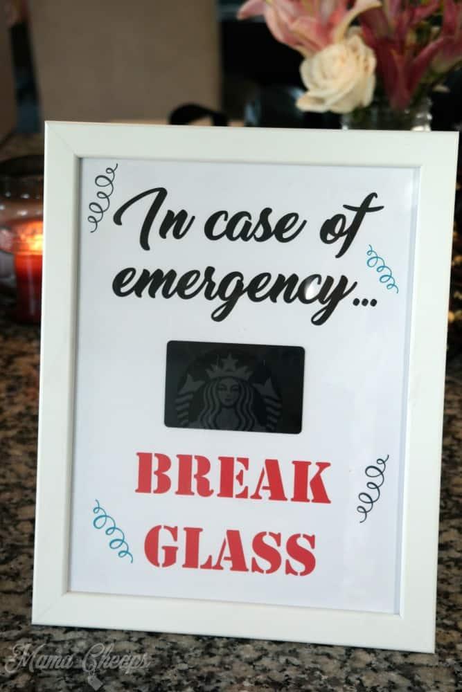Break Glass Printable