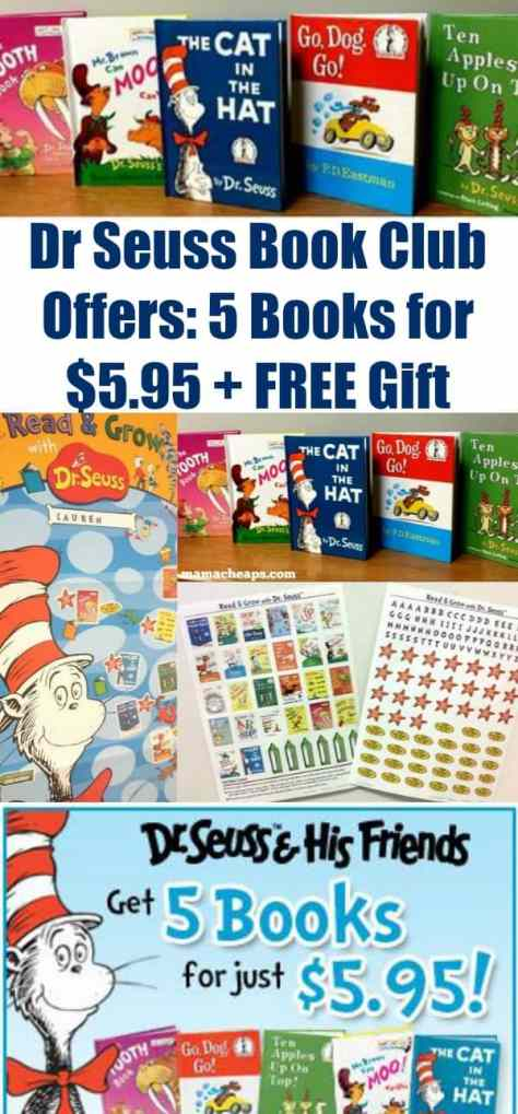 Dr Seuss Book Club Offers PIN