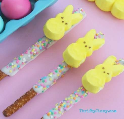DIY-PEEPS-Bunny-Easter-Pretzel-Treats-
