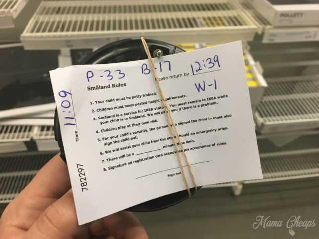 IKEA Smaland Rules