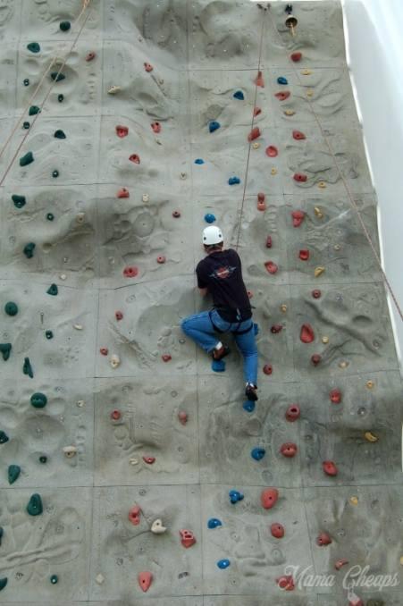 Rock Wall Climbing Royal Caribbean