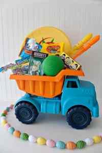 dump truck easter basket