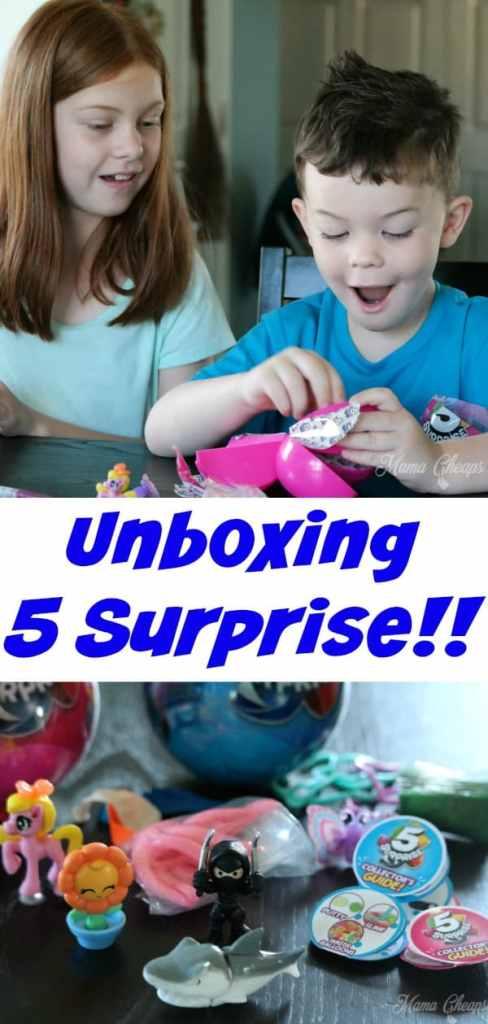 Unboxing 5 Surprise PIN