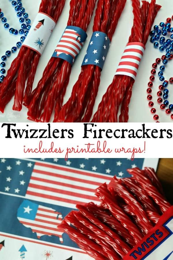 Twizzlers Firecrackers