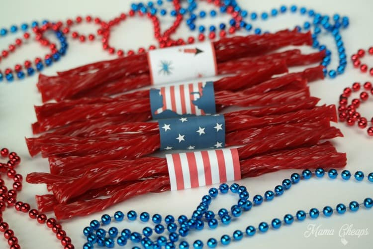 Twizzlers Patriotic Treats