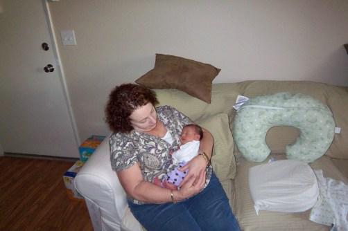 Douglas' aunt, Pam