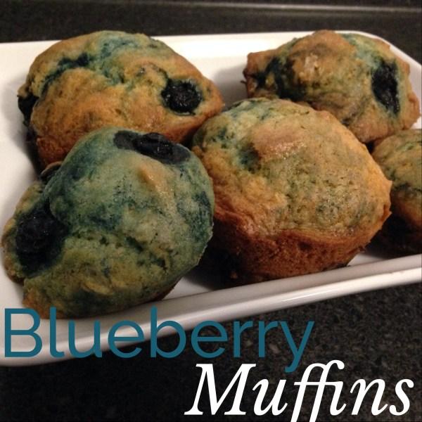 Mama Chit Chat: Blueberry Muffins