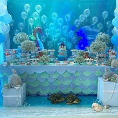 bubbles festa fundo do mar