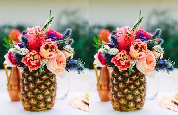 abacaxi de decoração