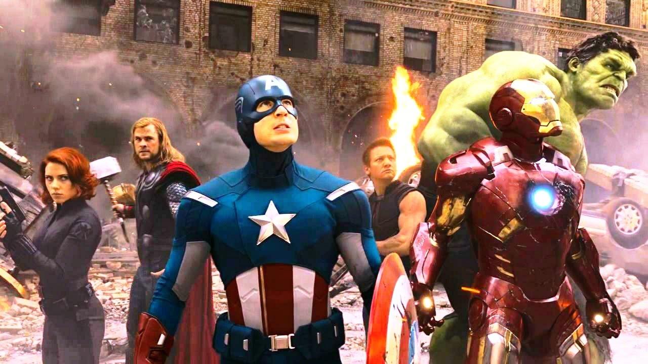 Cena Do Filme Vingadores 3