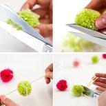 Como decorar com pompom