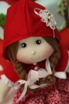 Bonequinha da Chapeuzinho Vermelho