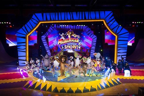 Madagascar Circus Show: atração do parque temático Beto Carrero World