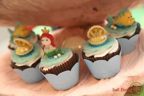 Festa de menina no tema Pequena Sereia