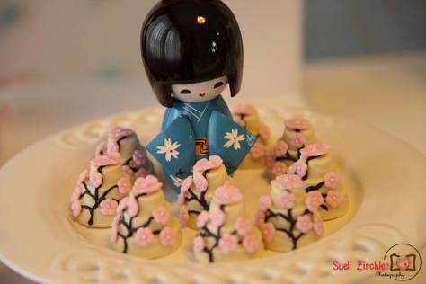 Festa d emenina no tema menina de quimono