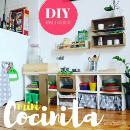 Mini Cocinita (Montessori) DIY