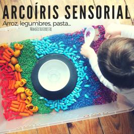 Arroz, legumbres, pasta… Arcoíris sensorial!