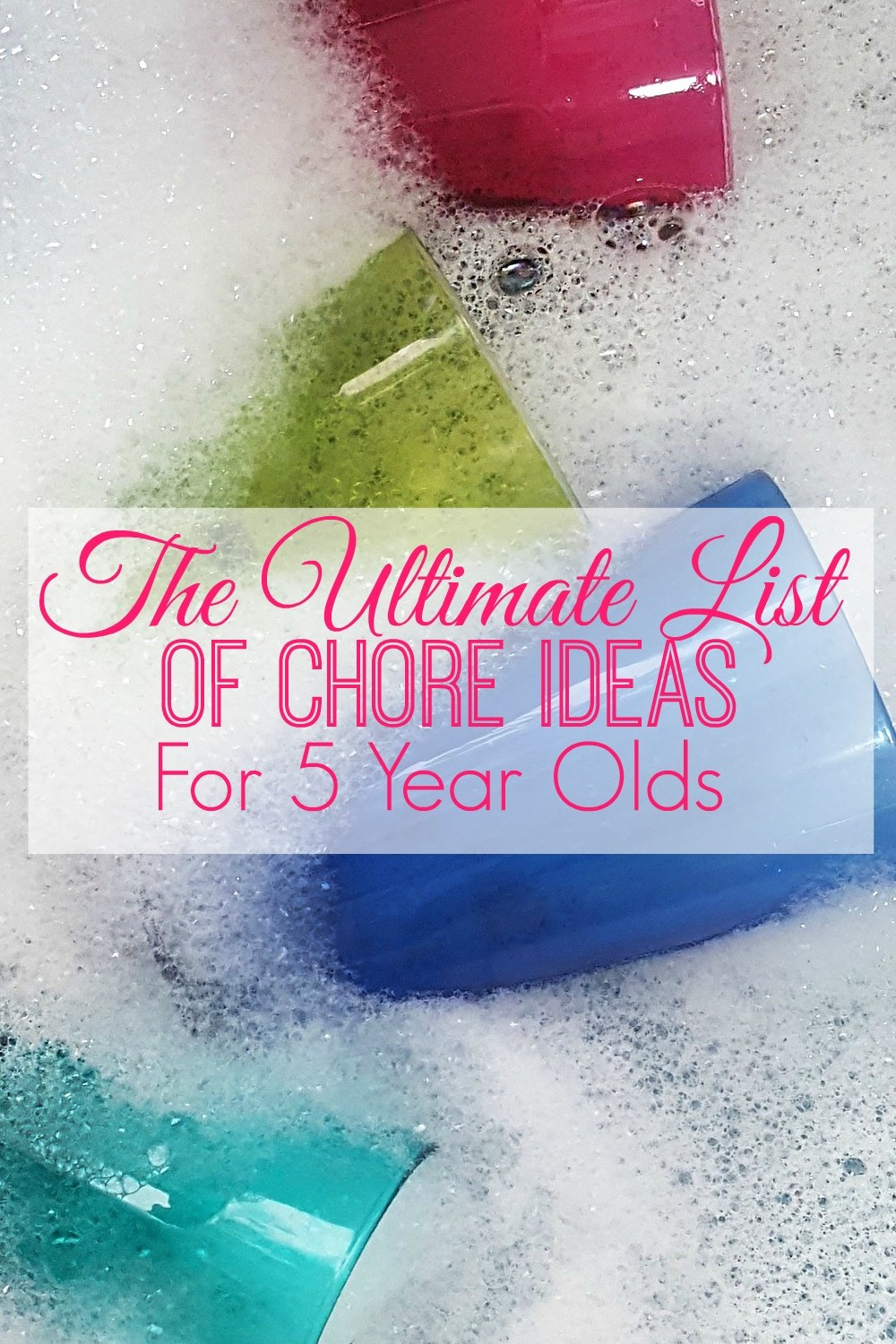 Chores For 5 Year Olds
