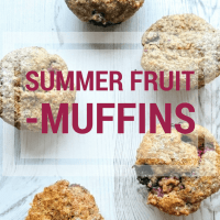 Summer Fruit Muffins