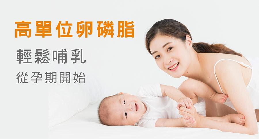【孕哺首選品牌】活力mama卵磷脂 哺乳輕鬆奶水順暢