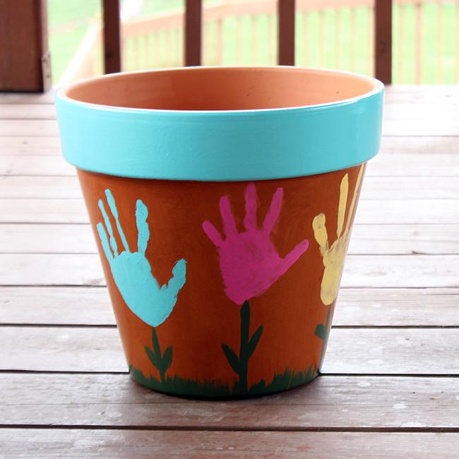 handprintflower-pot0