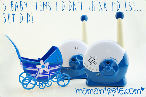 5 Baby Items I didn't think I'd Use… But Did