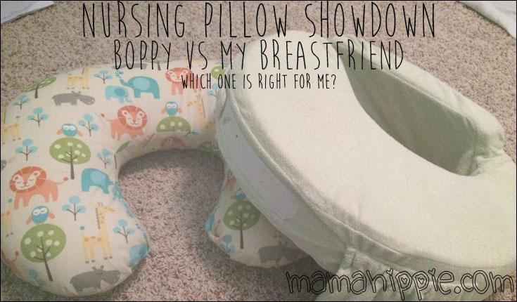 Nursing Pillow Showdown: Boppy vs My Breast Friend