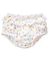 Polka Dot Bloomers in the Gymboree Newborn Collection