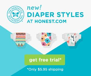Diapering During the Moving Process + Our Favorite Honest Company Bundles