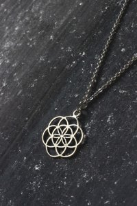 Seed of Life Charm by Ananke Jewelry
