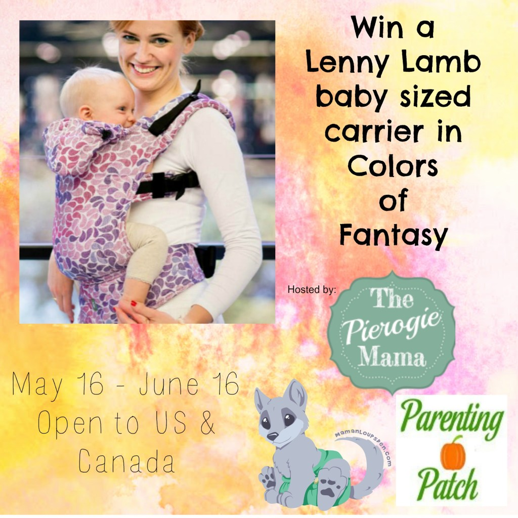 Win a Lenny Lamb Baby Carrier!
