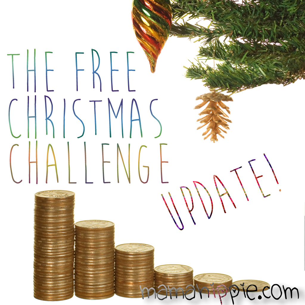 Free Christmas 2016 Challenge: October Progress Update