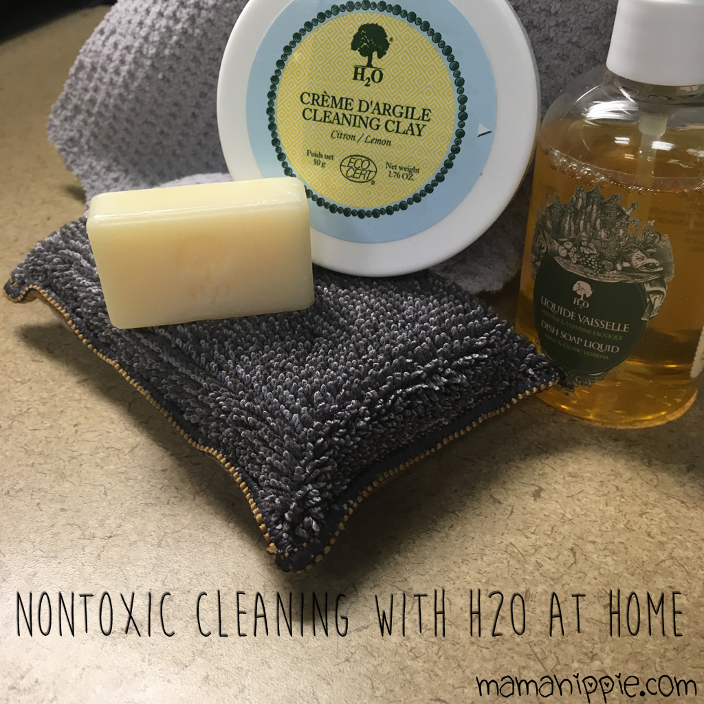 Nontoxic Cleaning with H20 at Home