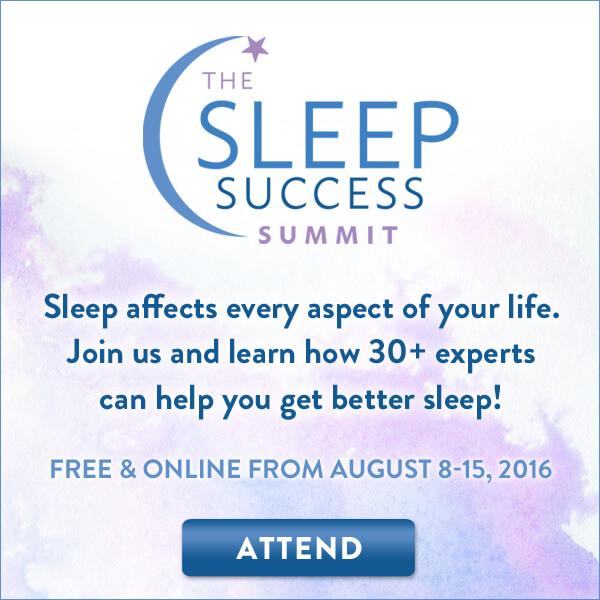 Register for the Sleep Success Summit & Master Your Sleep