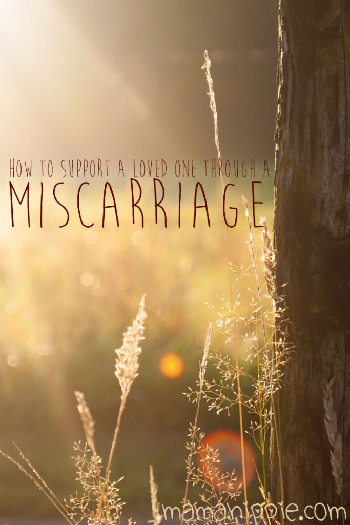 Losing a pregnancy can be difficult for a woman and her partner. It's difficult to know how to support someone in their time of need if you've never experienced a miscarriage yourself. Whether it be your aunt, sister, wife, child or friend, being there for them is invaluable to the healing process. How to support a loved one through a miscarriage - from a mama who's been there.