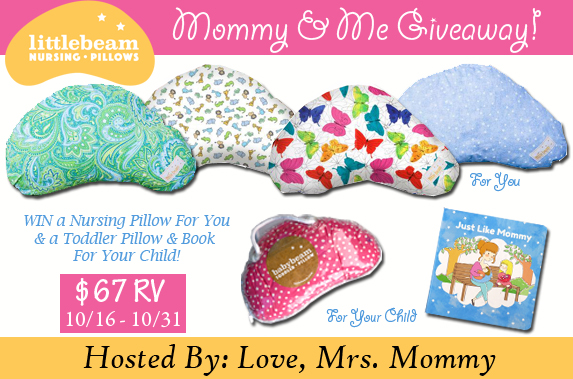 Mommy & Me Giveaway (10/16-10/31)