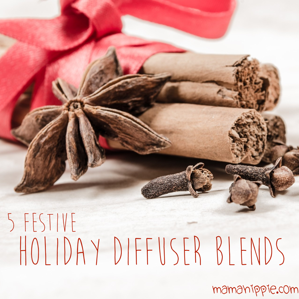 5 Festive Holiday Diffuser Blends