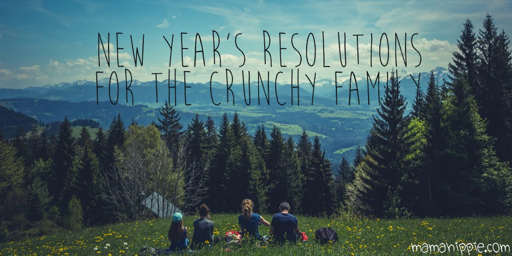 Want to set a new year's resolution but don't know where to start? Or maybe you're looking for something different than the standard lose weight type resolutions. Here are some fun resolution ideas (both easy and more difficult) with a more natural & crunchy spin.