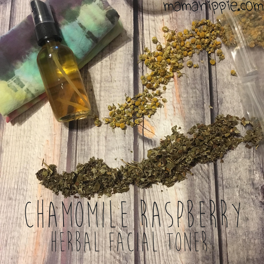Chamomile Raspberry Herbal Facial Toner