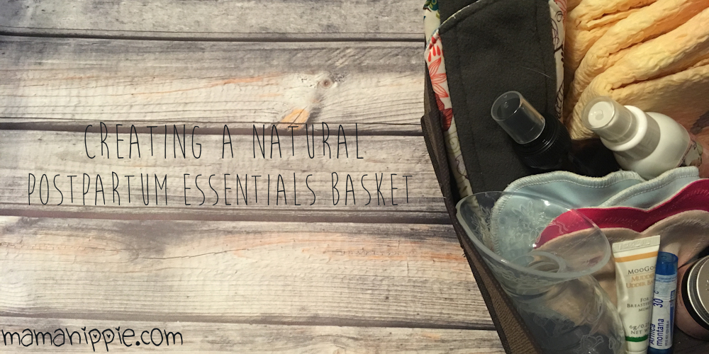 Giving birth is an exhausting (but amazing!) feat. Make your postpartum healing process a little easier by putting together an essentials basket.